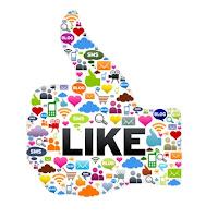 Google +, facebook, twitter, linkedin