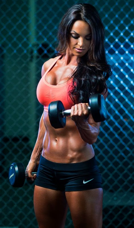 Amber Dawn Orton - Female Fitness Model