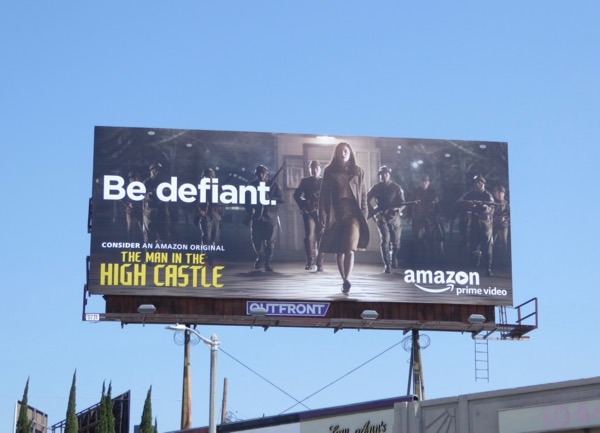Man in High Castle season 2 Emmy FYC billboard