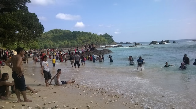 Tempa Wisata Travel Guide Wedi Ombo Beach Pantai Gunungkidul