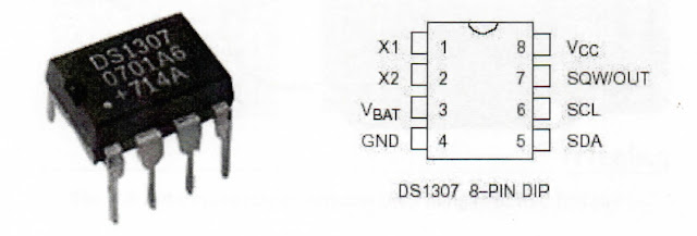IC Real Time Clock DS1307