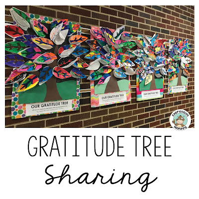 The Gratitude Tree Story and Class Activity is a great lesson for teaching kids about gratitude around Thanksgiving or any time of the year.  The printable leaves make this a quick and easy craft that will give students a beautiful lasting reminder to be grateful.