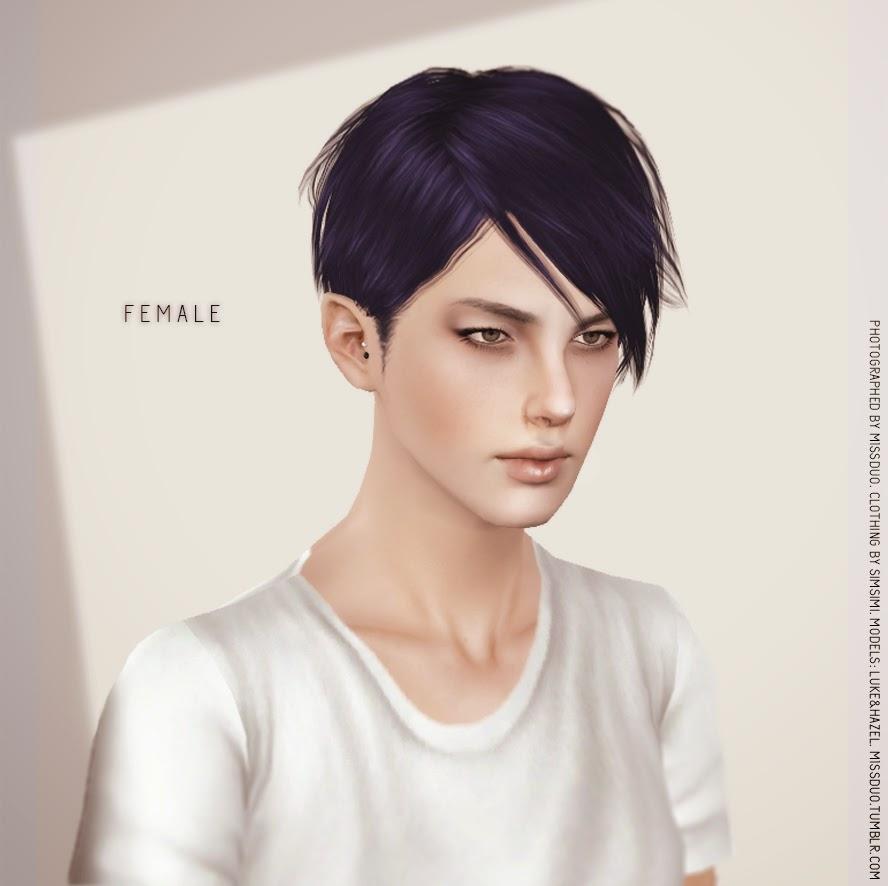 My Sims 3 Blog M1ssduo Toro Hair For Males Amp Females