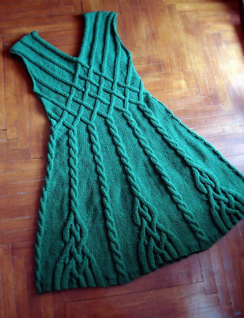 Dress Based on Caireen Shawl - Free Pattern