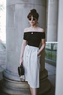Я шью: Летняя юбка в полоску
