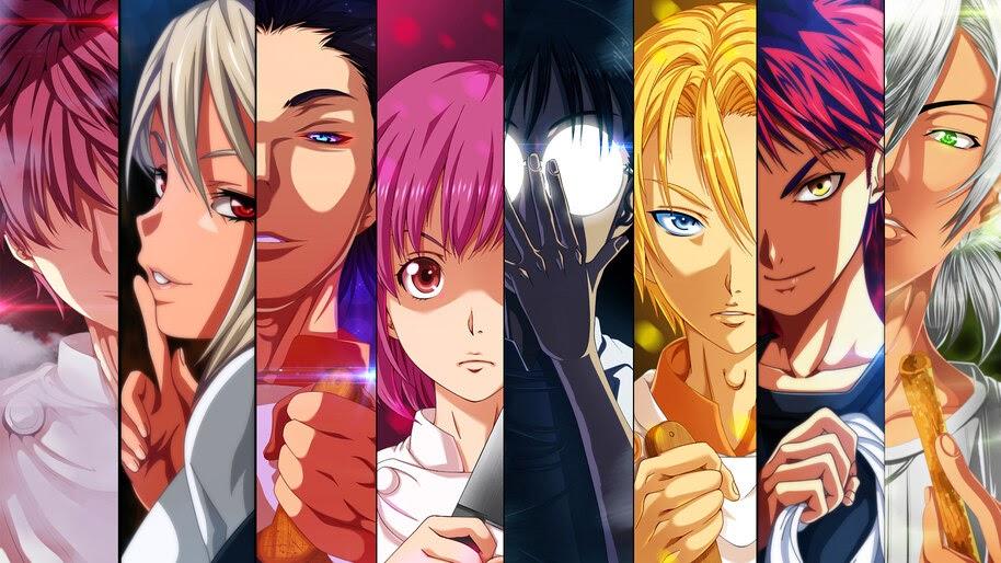 Food Wars, Anime, Characters, 4K, #3.1061