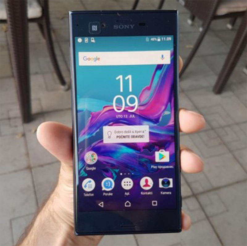 Sony Xperia XR photo by GSMArena