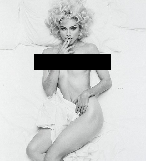 Madonna Nude Photo Sold 18