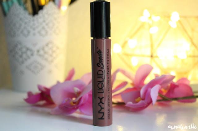 NYX rouge à lèvres, liquid suede