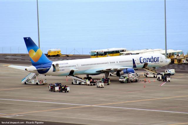AEROPORTO DA MADEIRA - D-ABOI - CONDOR - BOEING 757