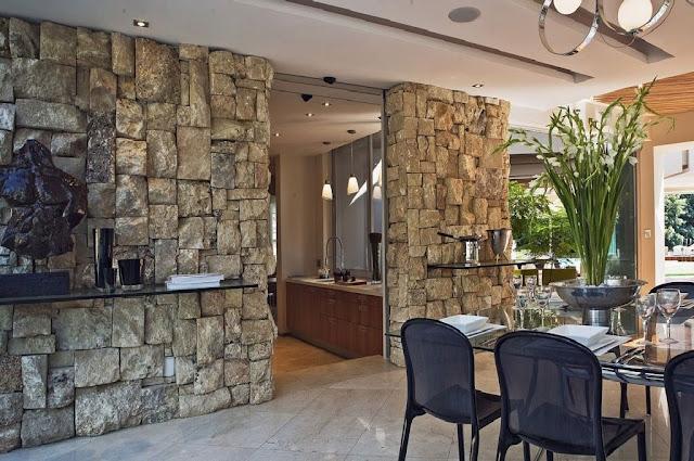 Revestimiento De Paredes Con Piedra Construya Facil - Piedra-para-revestir-paredes