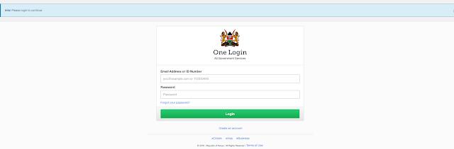 How to Reset Your eCitizen Password