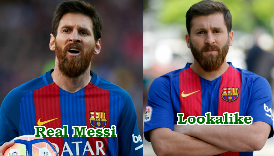 iranian student look like messi