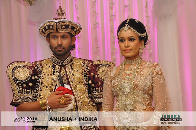 Tele Actor Indika Prasanna Hewawitharane's Wedding
