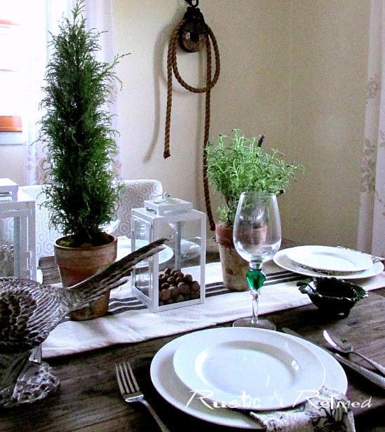 Autumn Tablescape idea
