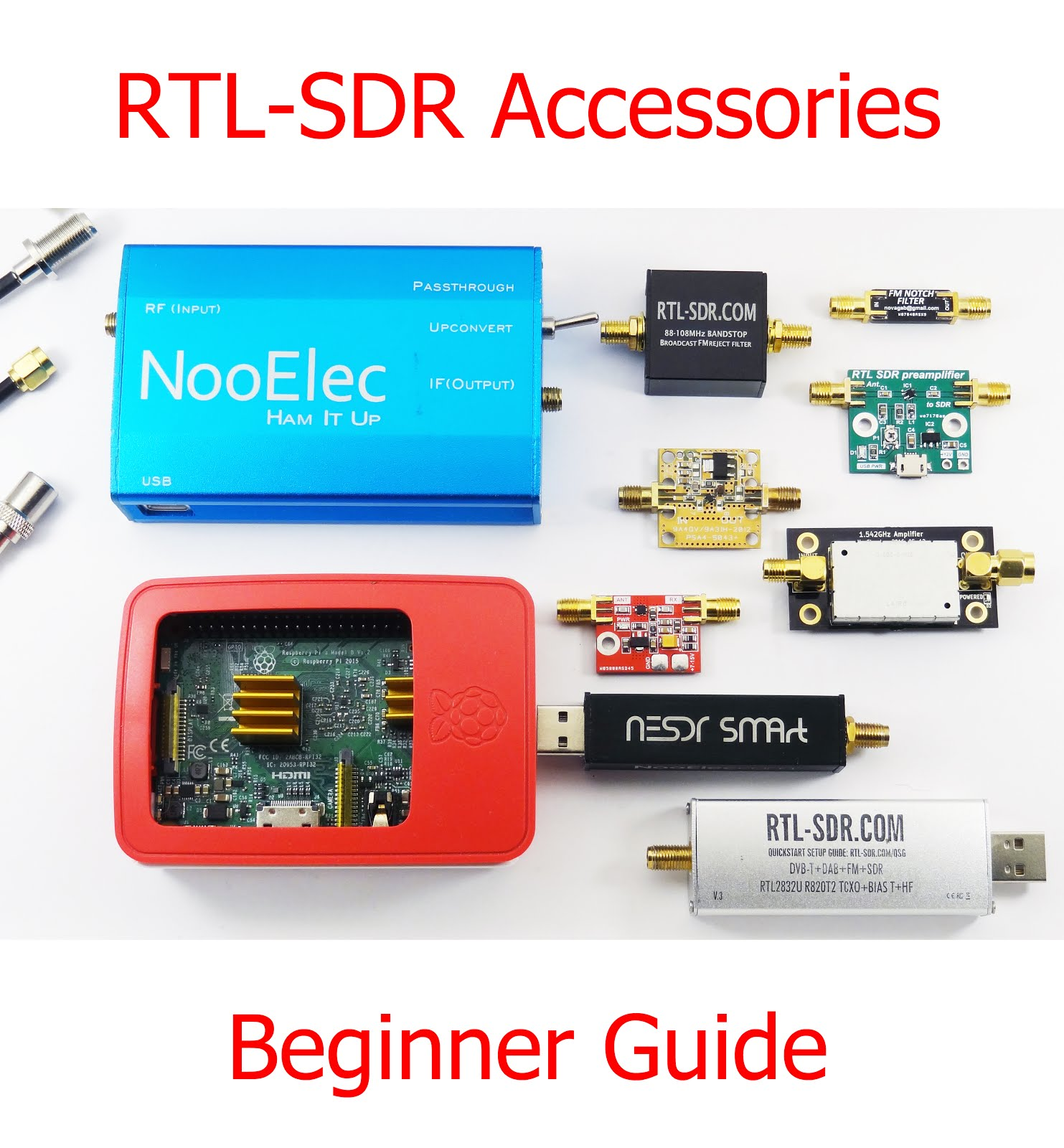 Radio for Everyone: RTL SDR Accessories Beginner Guide