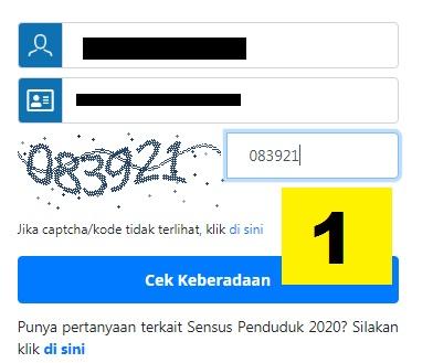gambar cara sensus penduduk online 2020