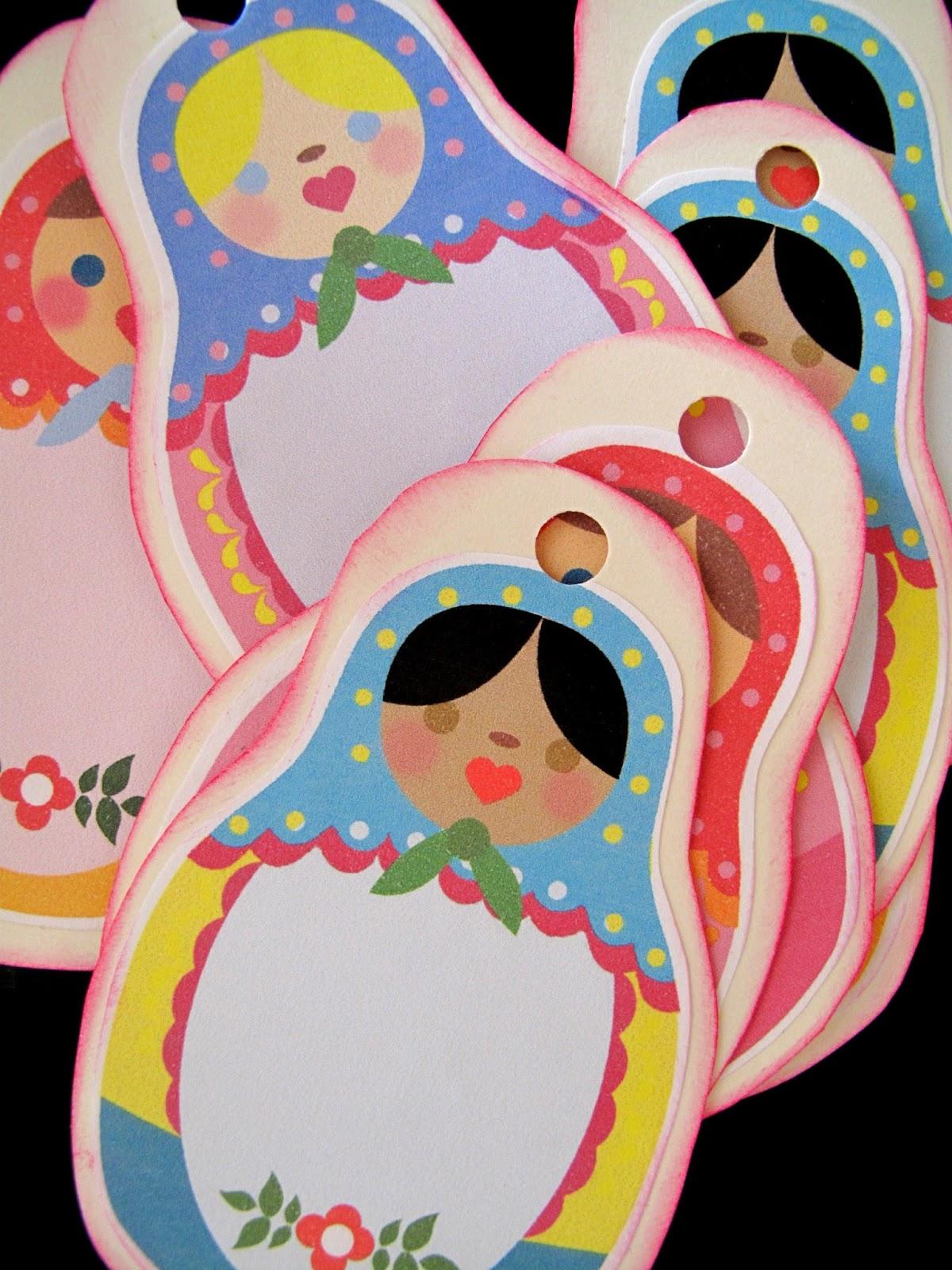 Lovepaperfish Russian Doll Printables