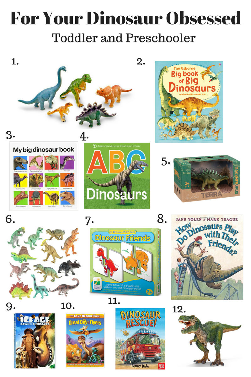 Thoughts for Thursday: For your Dinosaur Obsessed Toddler