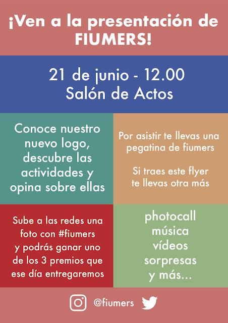 Fiesta de presentación de FIUMERS.