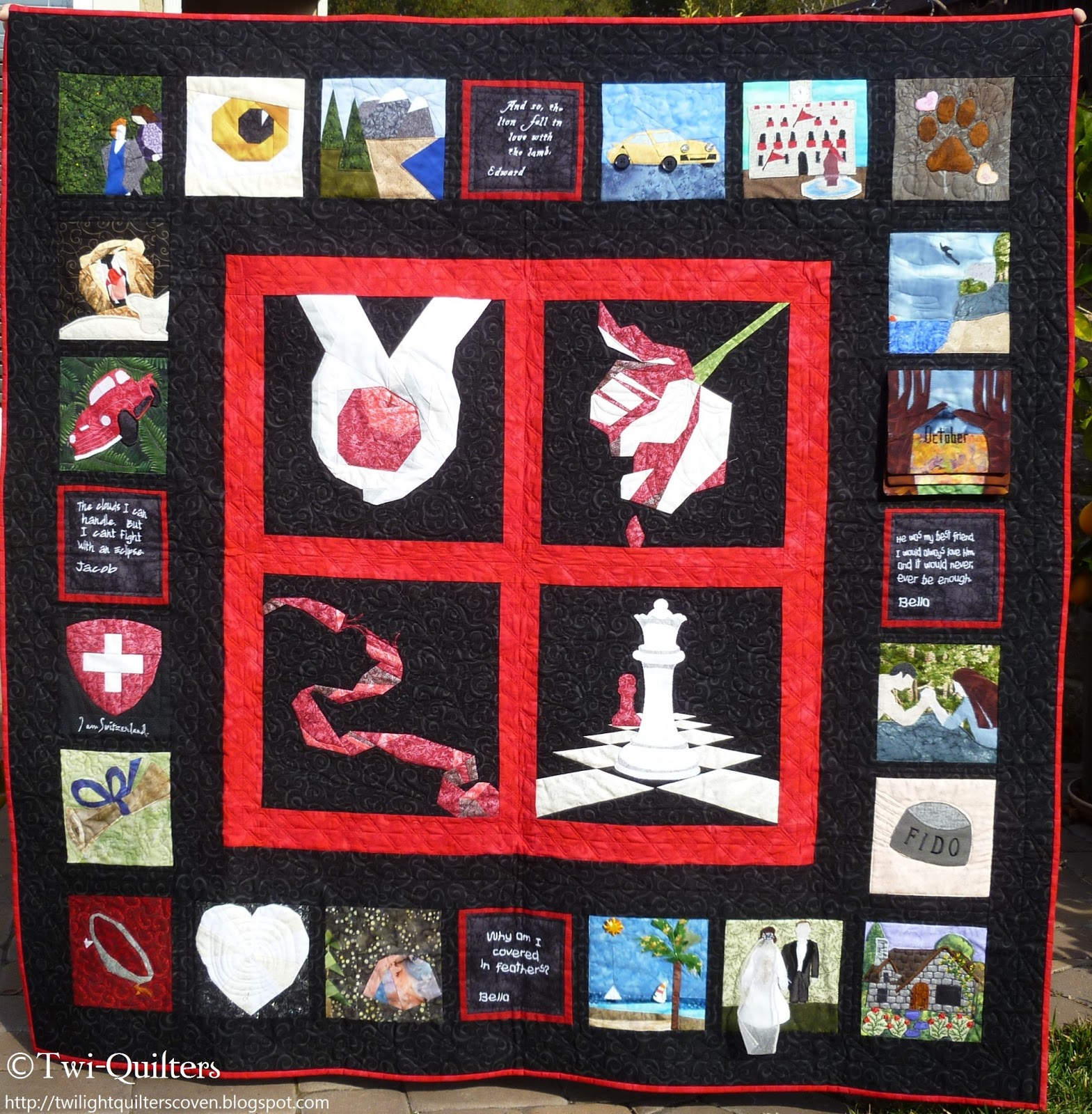 Twi Quilters Twilight Saga Charity Quilt