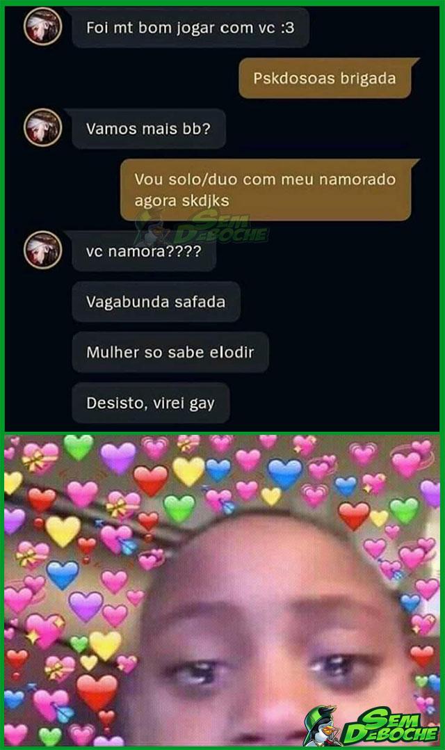 MULHER SÓ SABE ELODIR MESMO