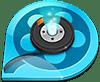 QQ Player icon, logo