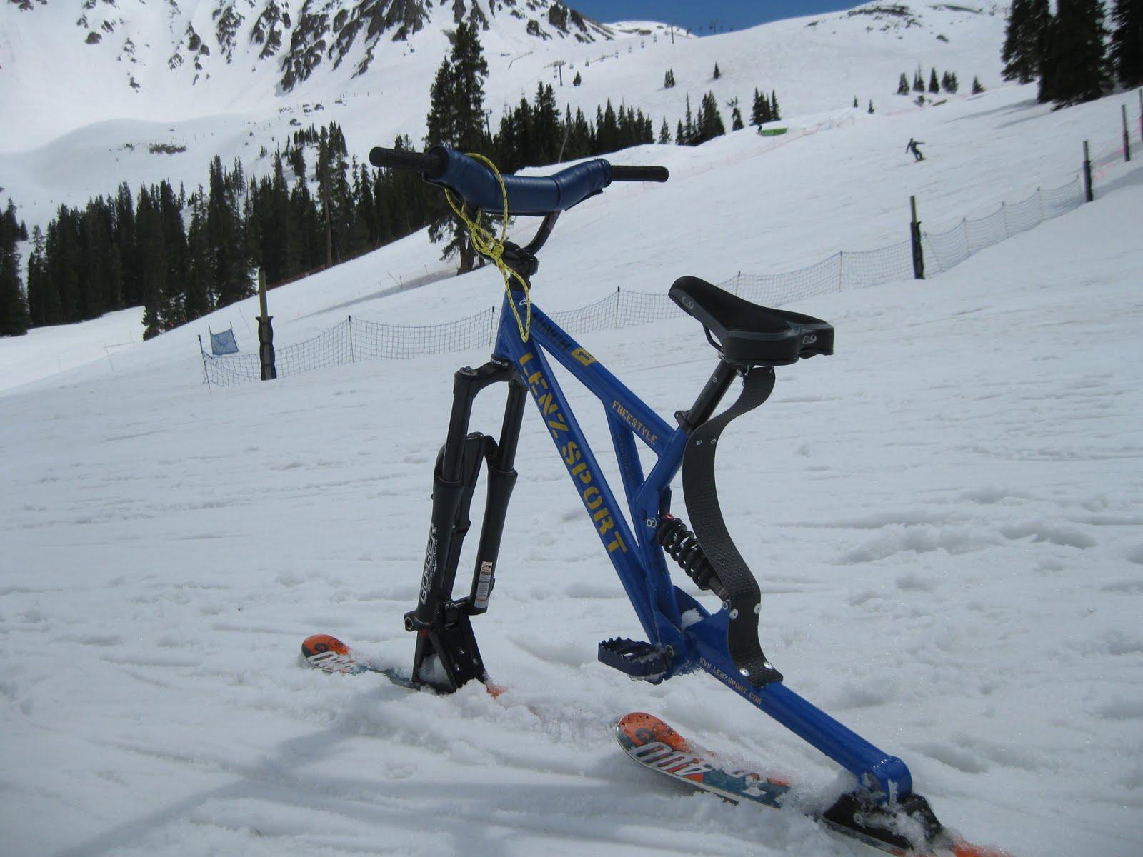 A Colorado Skibiker Goes Skibiking Ski Bike Requirements