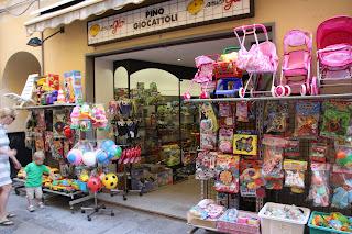 Speelgoedwinkel Alassio