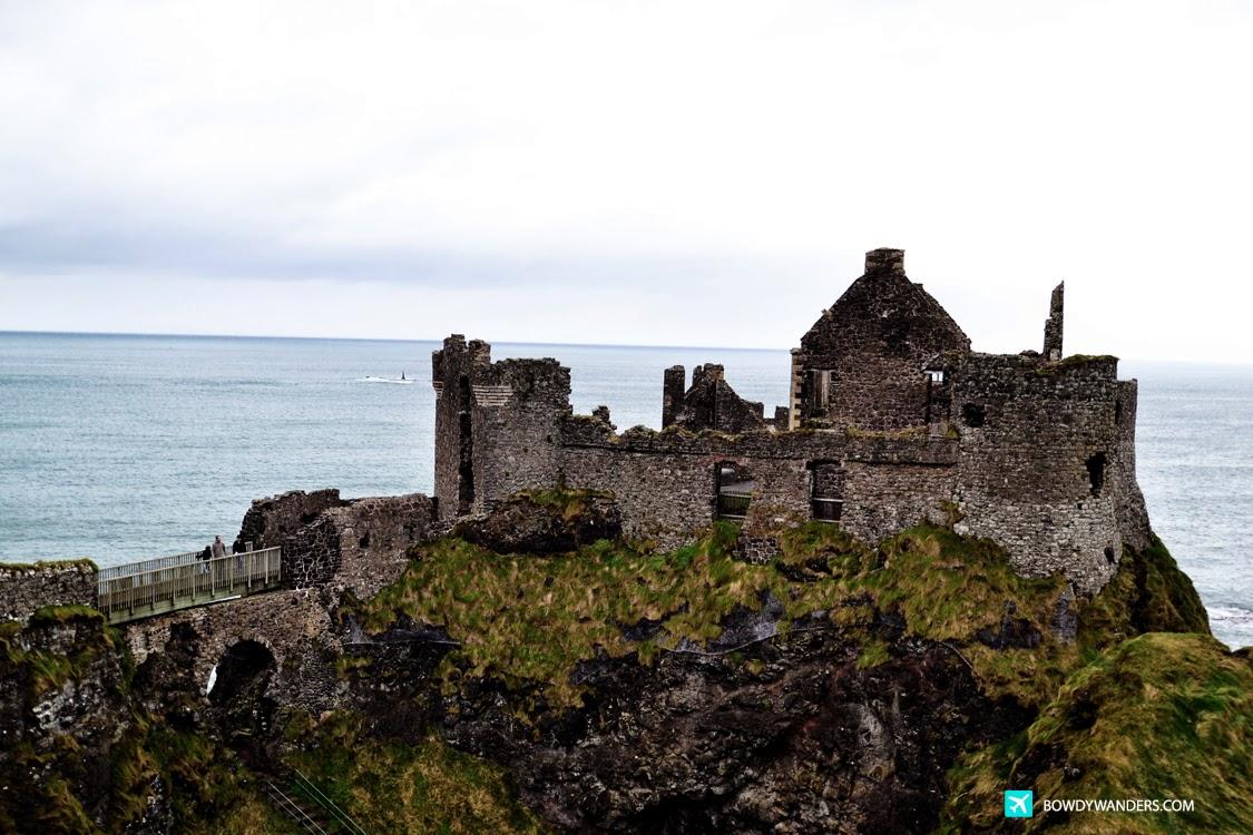 bowdywanders.com Singapore Travel Blog Philippines Photo :: Northern Ireland :: Dunluce Castle, Northern Ireland: Fancy Some Scones or Some Northern Lights?