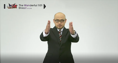 The Wonderful 101 Direct directly to you Hideki Kamiya