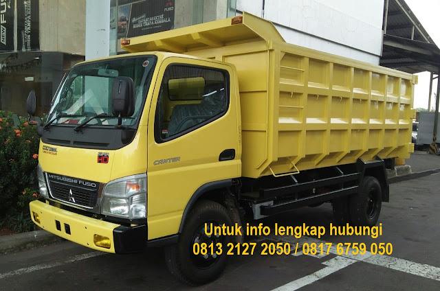 promo paket kredit murah dump truck mitsubishi canter 2019