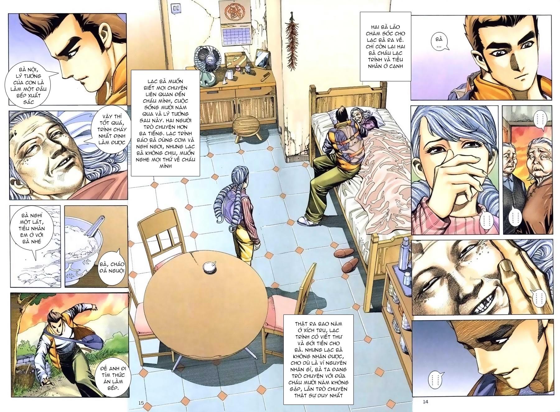 Xích Trụ Phạn Đường chap 9 - Trang 14