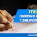 Temario: Concursos de Nombramiento y Contratación Docente 2019