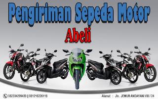 EKSPEDISI PENGIRIMAN MOTOR SURABAYA ABELI