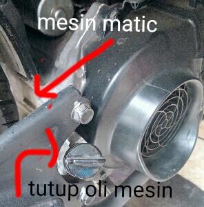 Cara menghaluskan suara mesin motor matic
