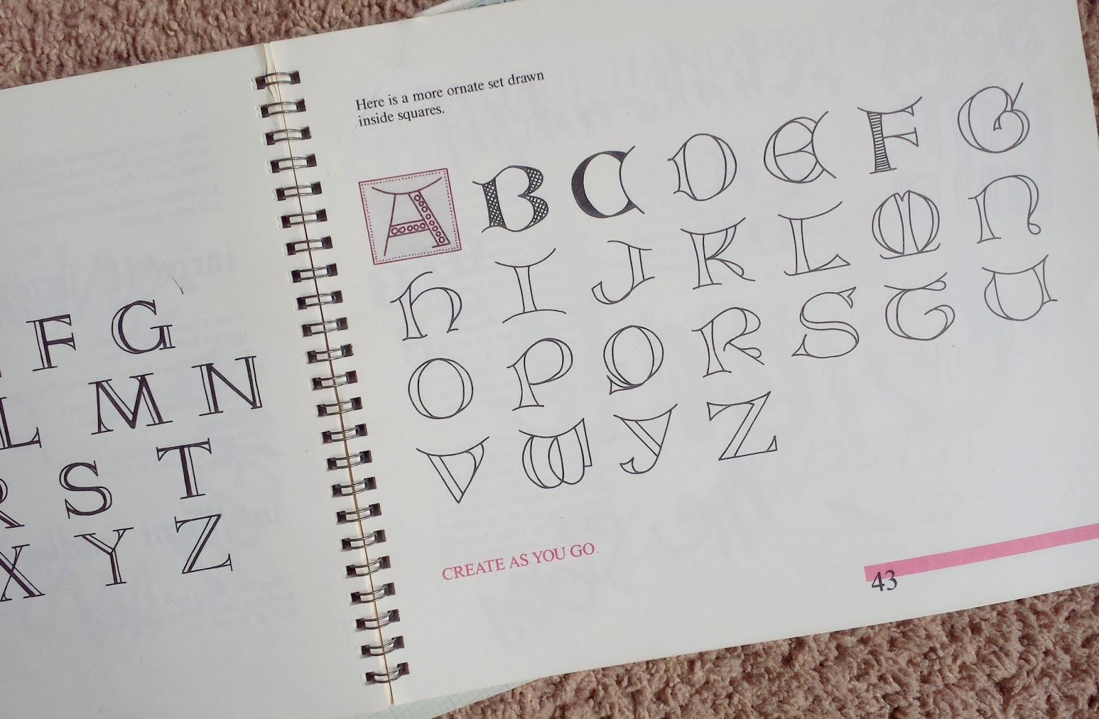 Calligraphy book review u write pretty things