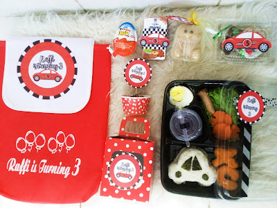 goodie bag DIY Car Birthday Party