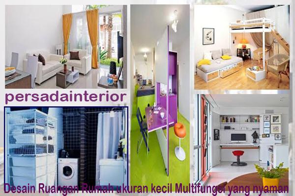 Desain Ruangan Rumah ukuran kecil Multifungsi yang nyaman