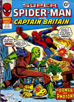 Super Spider-Man and Captain Britain #252, Photon