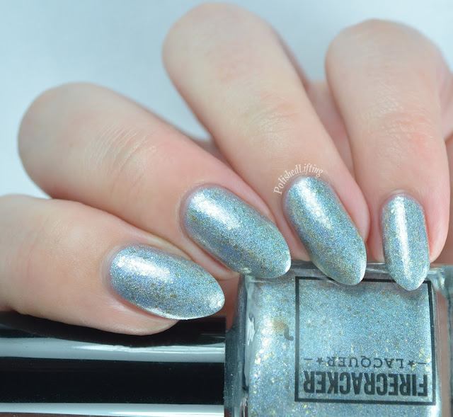Firecracker Lacquer Caution: Winter Ahead
