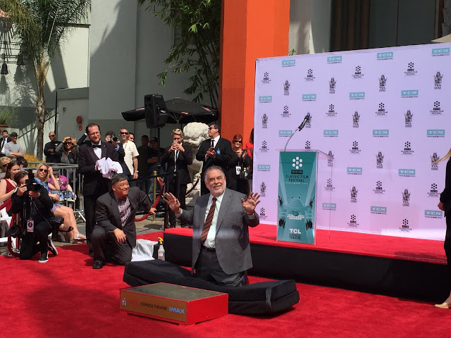 Francis Ford Coppola hand and footprint ceremony