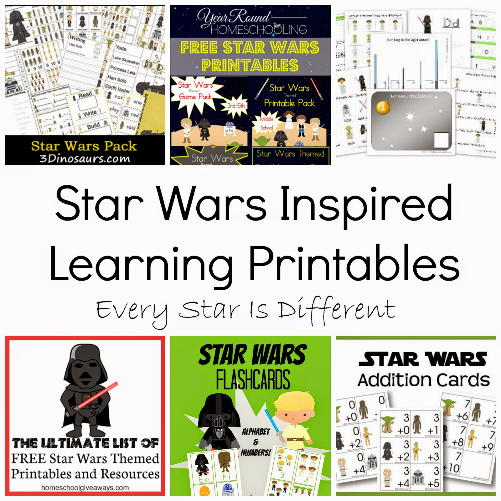 medium resolution of FREE Disney Inspired Learning Printable Packs \u0026 Activities - Every Star Is  Different
