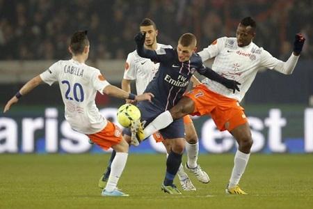 Assistir  PSG x Montpellier ao vivo hoje 27/01/2018