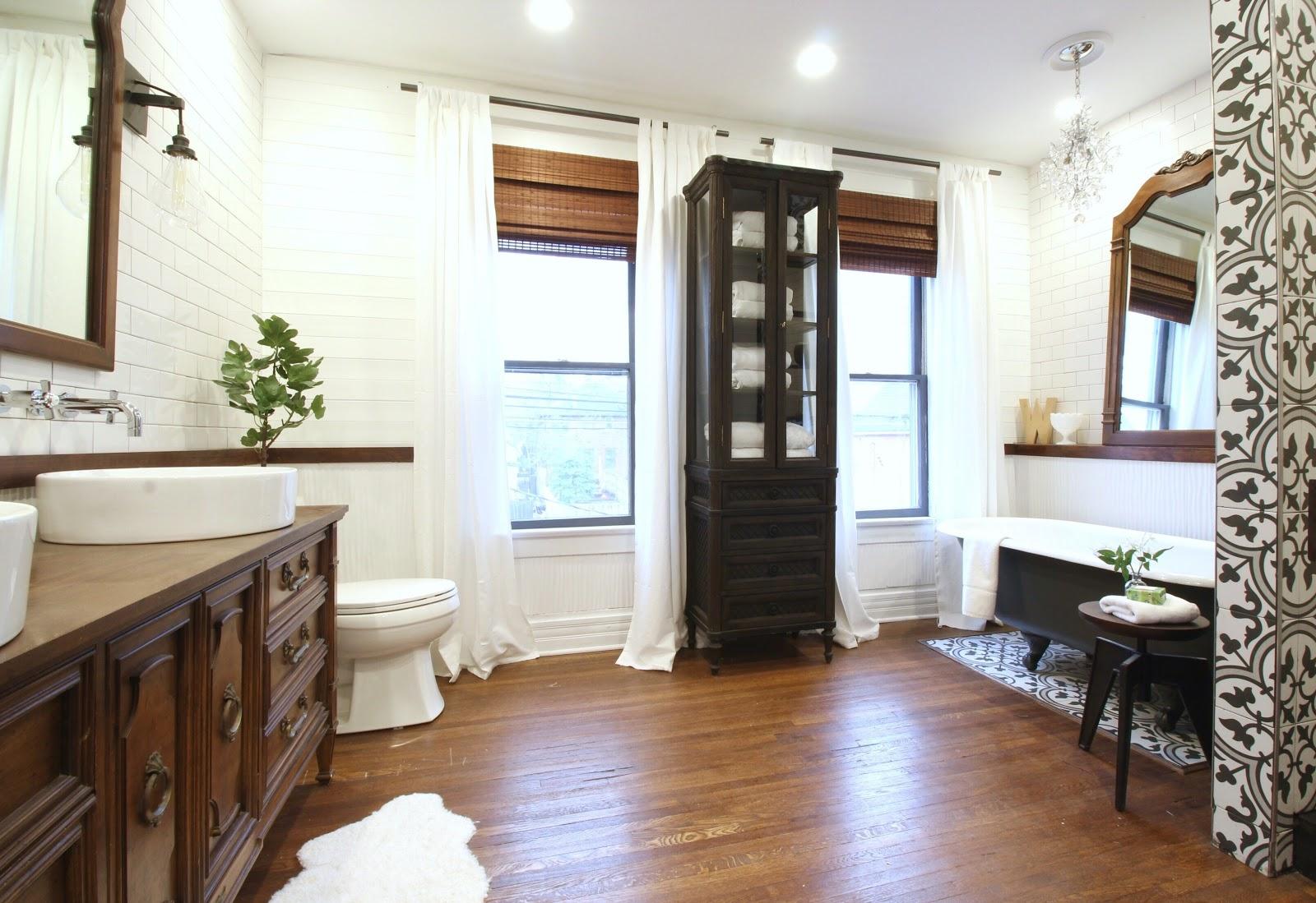 Depósito Santa Mariah: Banheiro Com Jeito De Spa! #674731 1600x1099 Banheiro Com Banheira Metragem