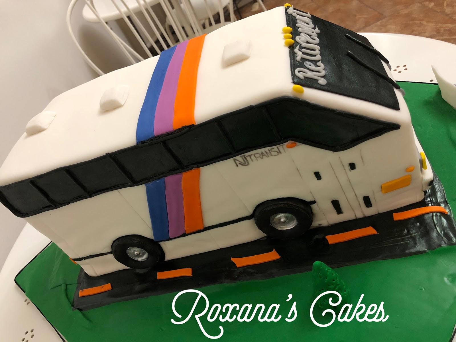 Prime Baking With Roxanas Cakes Nj Transit Bus Cake Funny Birthday Cards Online Ioscodamsfinfo