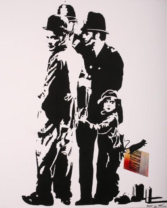Пионер настенной живописи. Blek le Rat 22