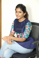 Eesha Looks super cute stunning in Denim Jeans and Top at Darsakudu movie Inerview ~  Exclusive 034.JPG