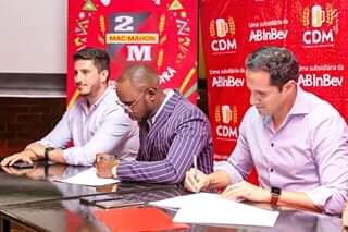 Mr Bow Assina Contrato Com CDM ( Cerveja De Moçambique)   Saiba Mais