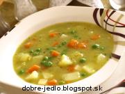 Hrachová polievka - recept